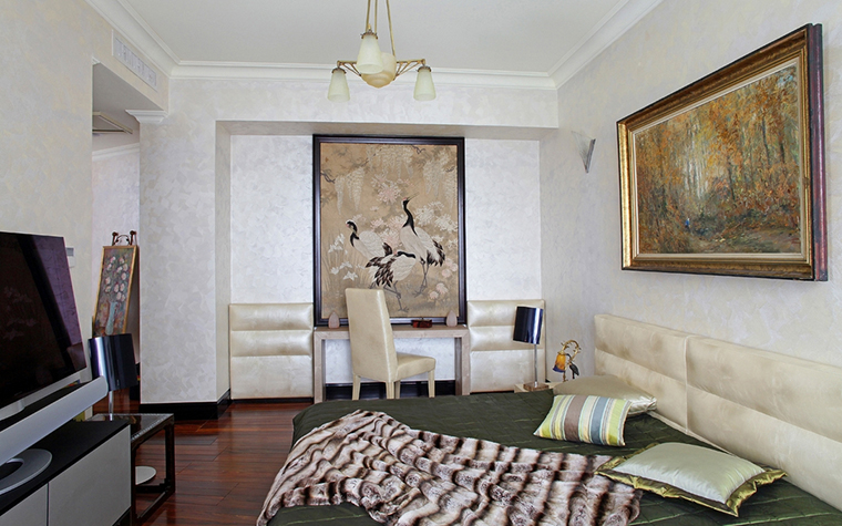 интерьер спальни - фото № 13607