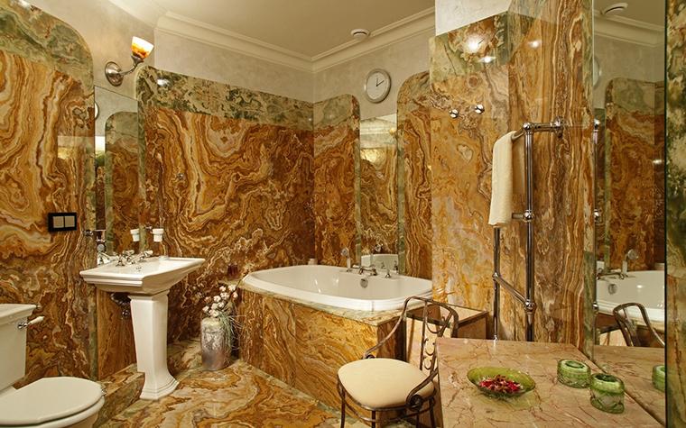 Квартира. ванная из проекта , фото №13610