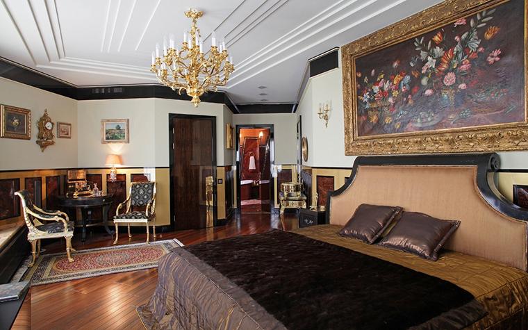 интерьер спальни - фото № 13609