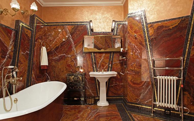 Квартира. ванная из проекта , фото №13612