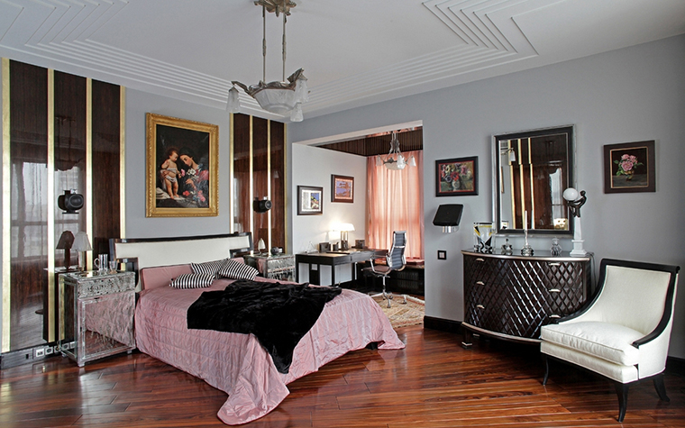 Квартира. спальня из проекта , фото №13613
