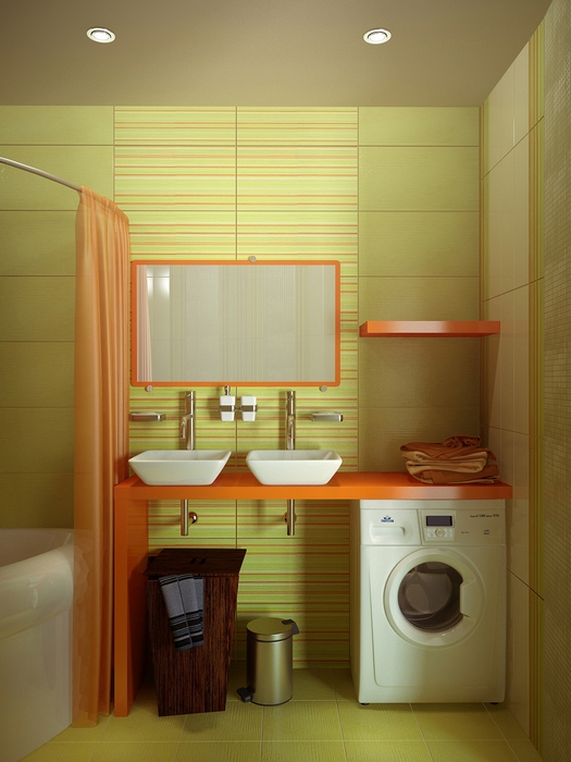 интерьер ванной - фото № 13633