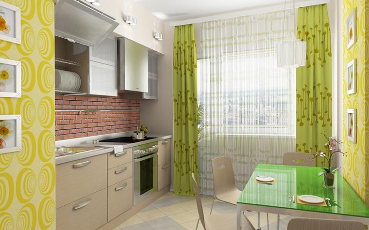 Квартира. кухня из проекта , фото №13642