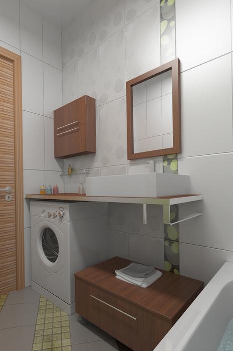 Фото № 13641 ванная  Квартира