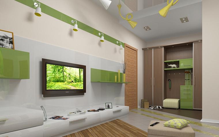Фото № 13635 гостиная  Квартира