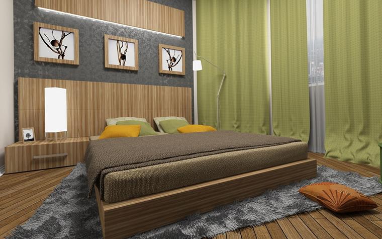 Фото № 13638 спальня  Квартира