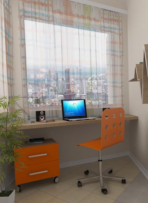 Квартира. кабинет из проекта , фото №13639