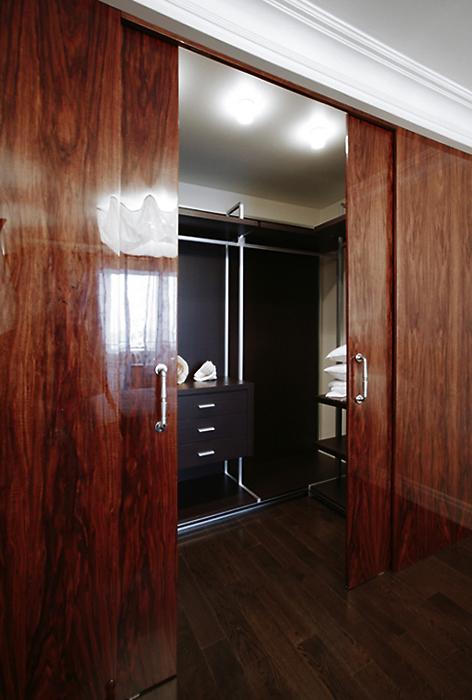 Квартира. спальня из проекта , фото №13699