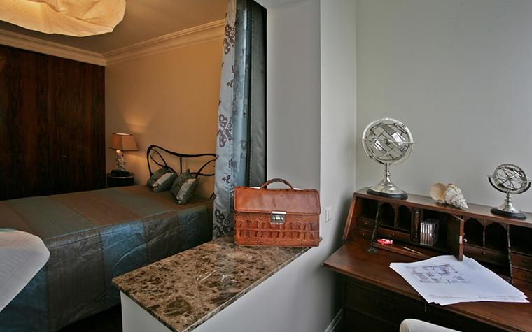 Квартира. спальня из проекта , фото №13683