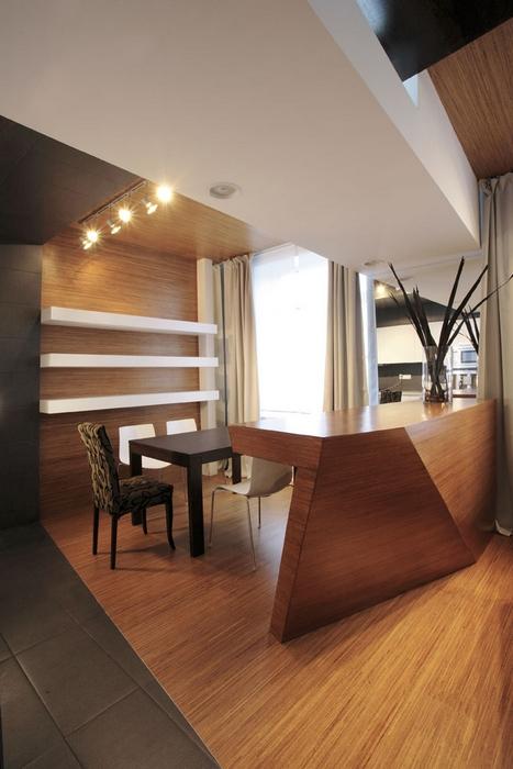 Квартира. столовая из проекта , фото №13742