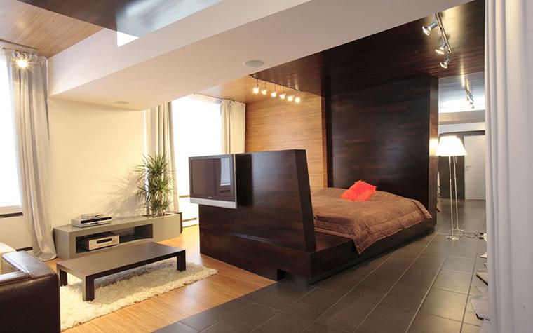Квартира. спальня из проекта , фото №13741