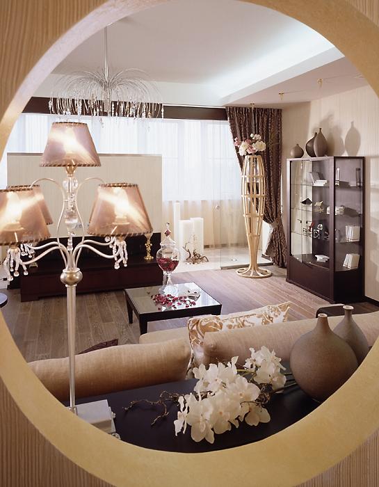 Квартира. гостиная из проекта , фото №13832