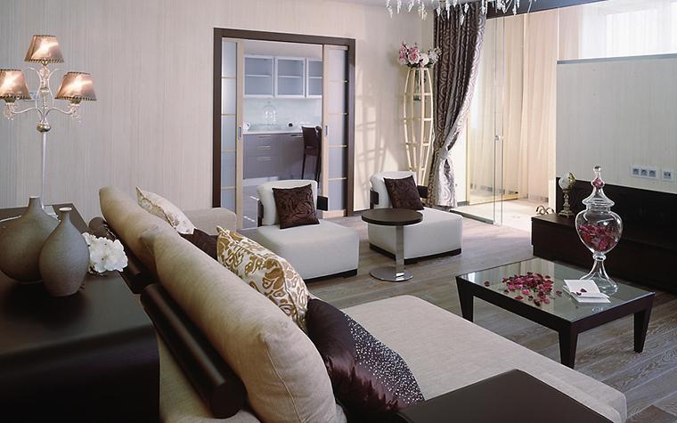 Квартира. гостиная из проекта , фото №13834