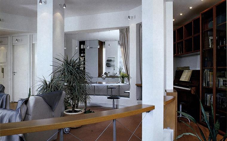 Фото № 13879 гостиная  Квартира