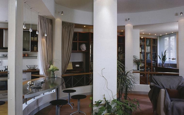 Фото № 13880 гостиная  Квартира