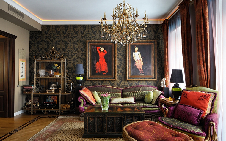 Фото № 13988 гостиная  Квартира