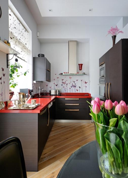 Фото № 13993 кухня  Квартира