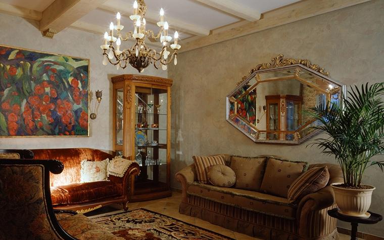 интерьер гостиной - фото № 14022