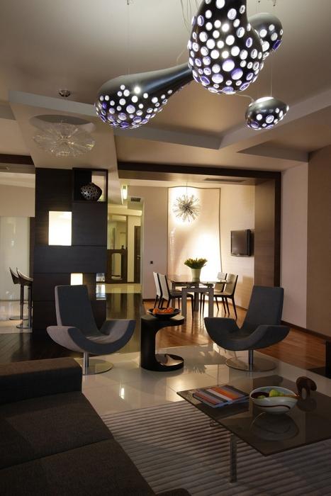 Фото № 14015 гостиная  Квартира