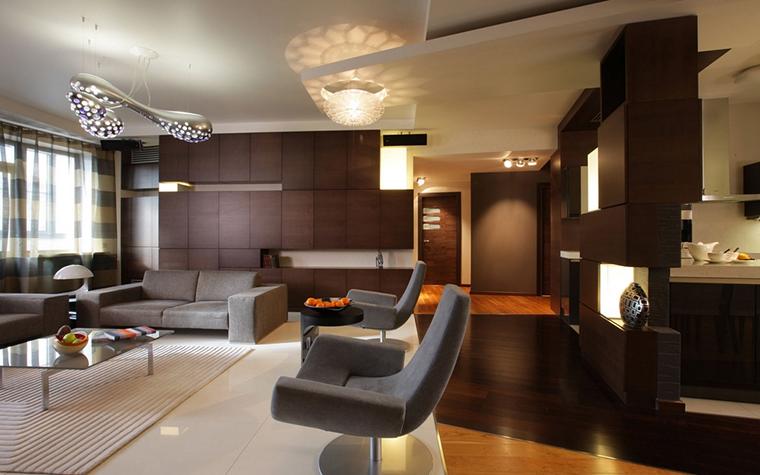 Фото № 14013 гостиная  Квартира