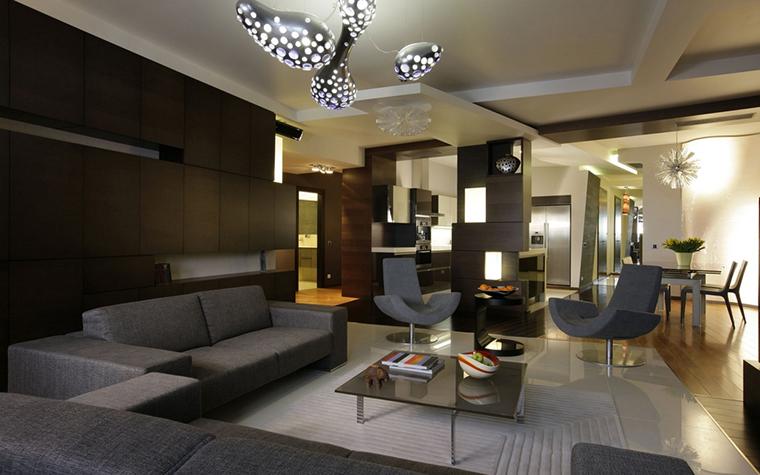 Фото № 14014 гостиная  Квартира