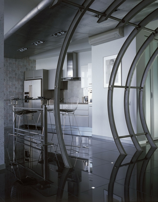 Квартира. кухня из проекта , фото №14038