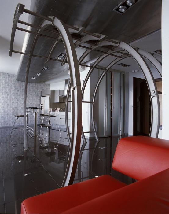 Квартира. кухня из проекта , фото №14039