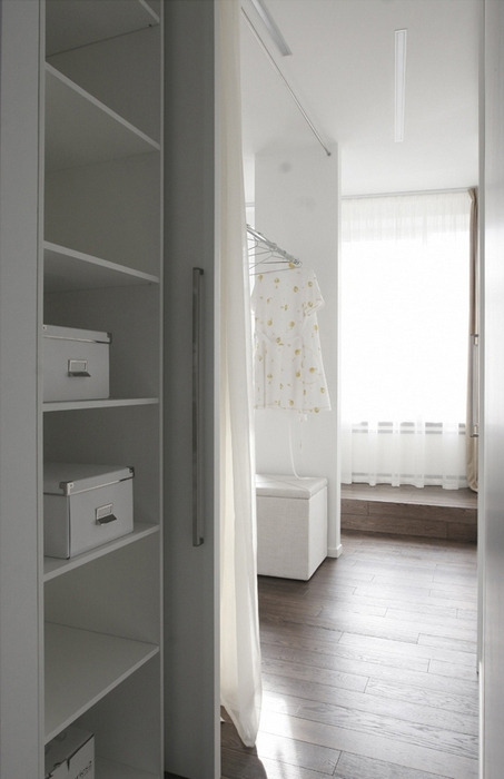 Квартира. спальня из проекта , фото №14072