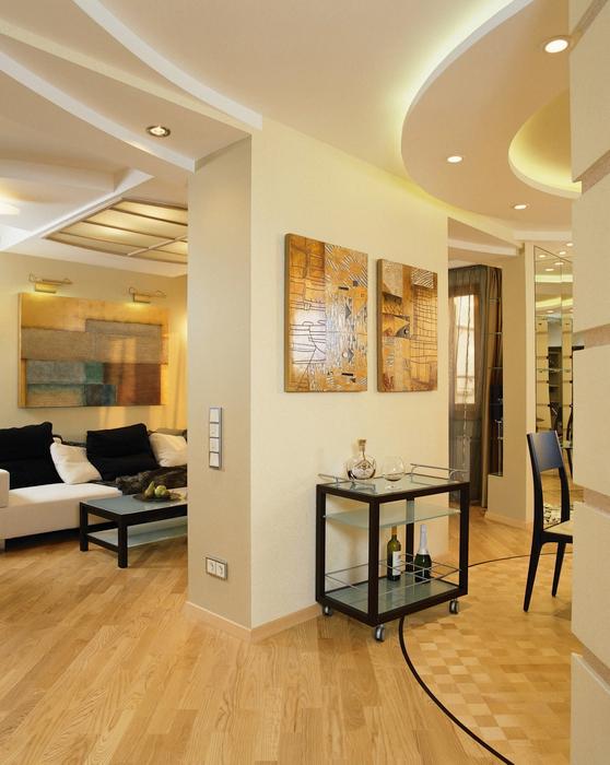 Фото № 14091 гостиная  Квартира