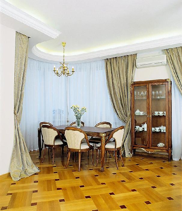 Квартира. столовая из проекта , фото №14125