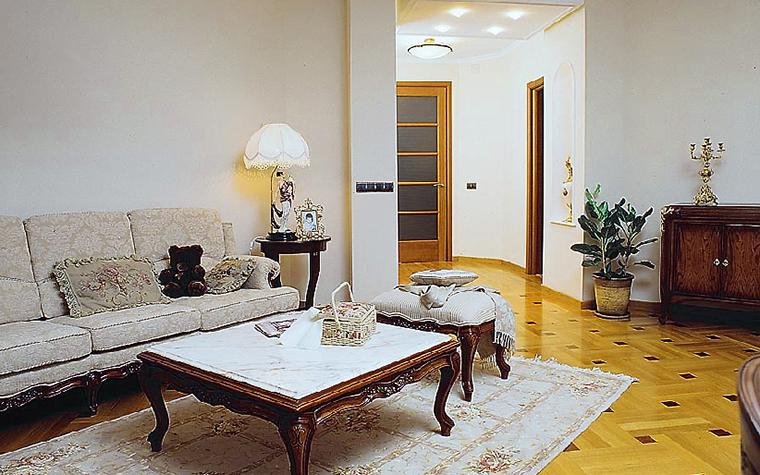 Квартира. гостиная из проекта , фото №14119