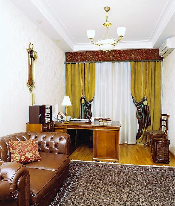 Квартира. кабинет из проекта , фото №14121