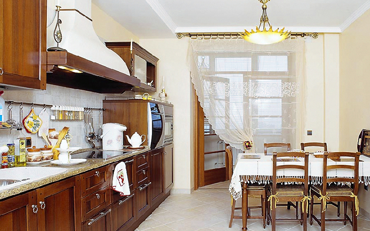 Квартира. кухня из проекта , фото №14123