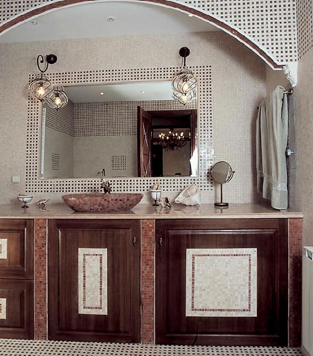 интерьер ванной - фото № 14144