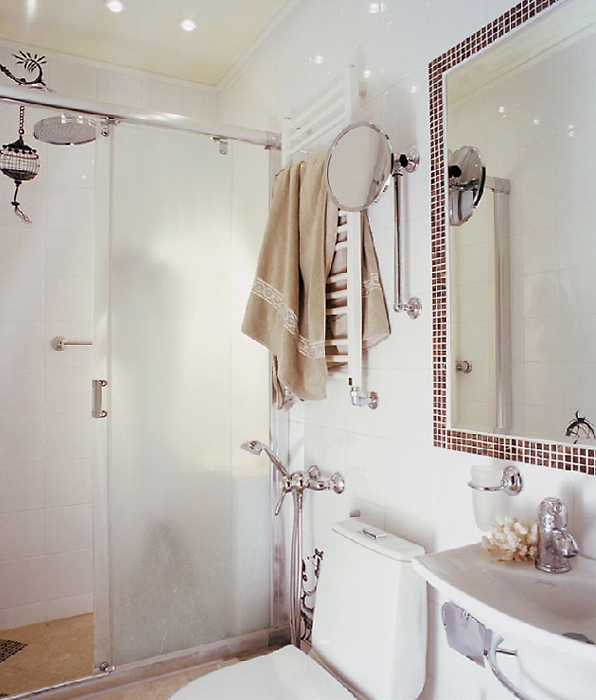 Квартира. ванная из проекта , фото №14146