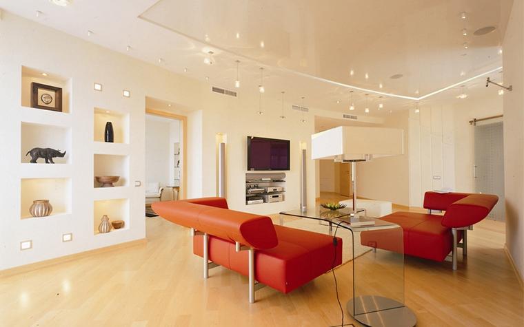 Квартира. гостиная из проекта , фото №14184