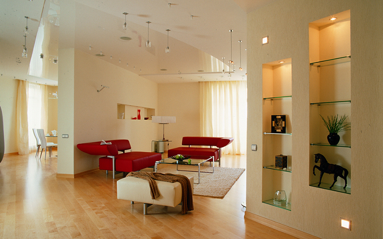 Квартира. гостиная из проекта , фото №16486
