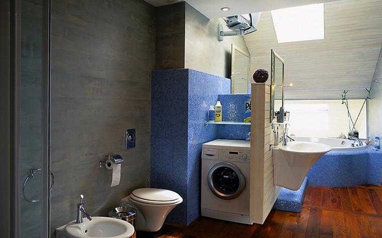 Квартира. ванная из проекта , фото №14369