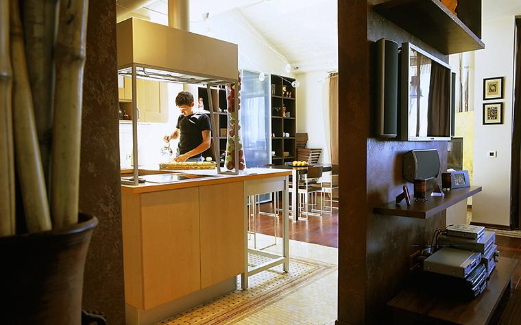 Фото № 14374 кухня  Квартира
