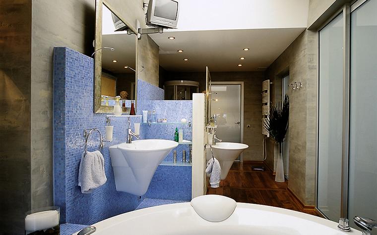 Квартира. ванная из проекта , фото №14370