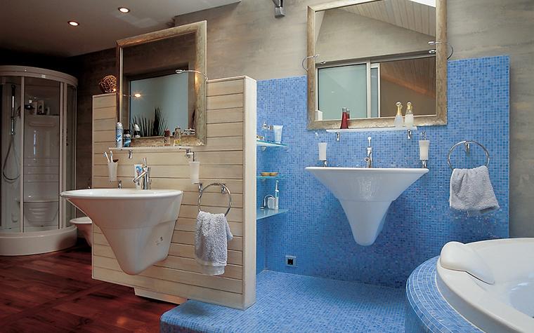 Квартира. ванная из проекта , фото №14371
