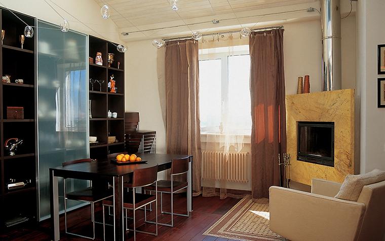 Квартира. столовая из проекта , фото №14378