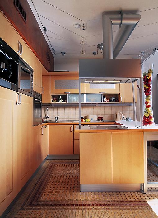 Фото № 14375 кухня  Квартира