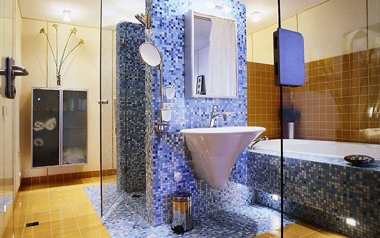 Квартира. ванная из проекта , фото №14388