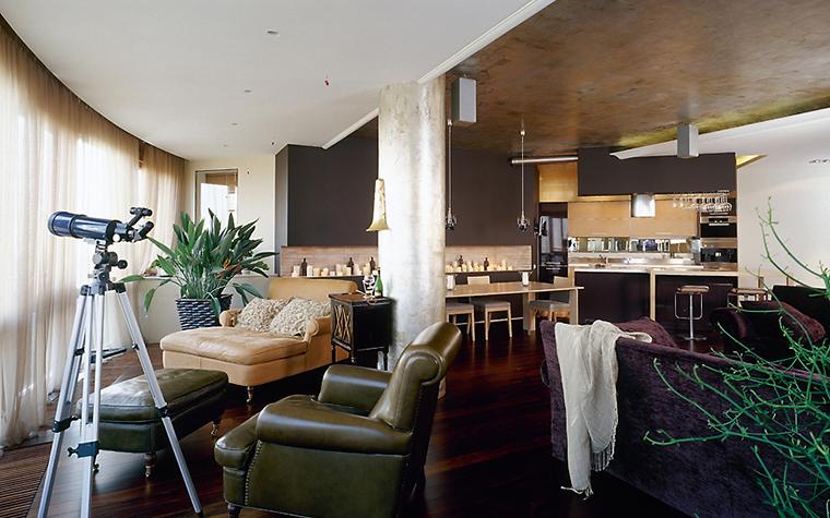 интерьер гостиной - фото № 14419