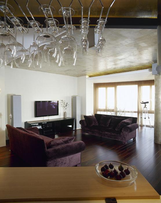 интерьер гостиной - фото № 14420