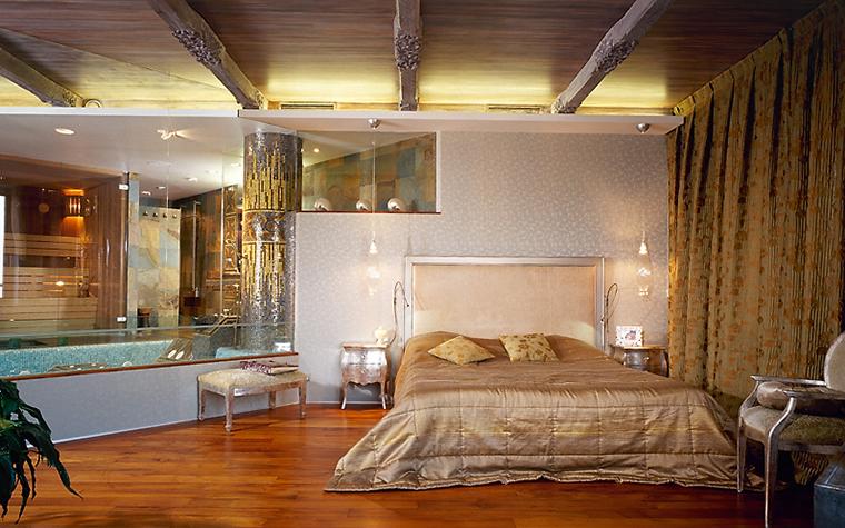 интерьер спальни - фото № 14439