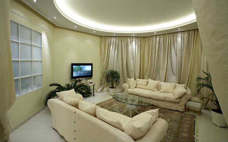 интерьер гостиной - фото № 14442