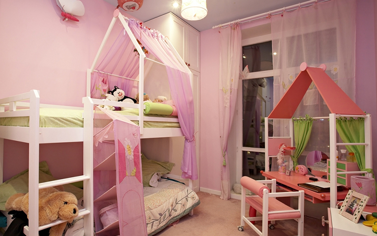 Квартира. детская из проекта , фото №14451
