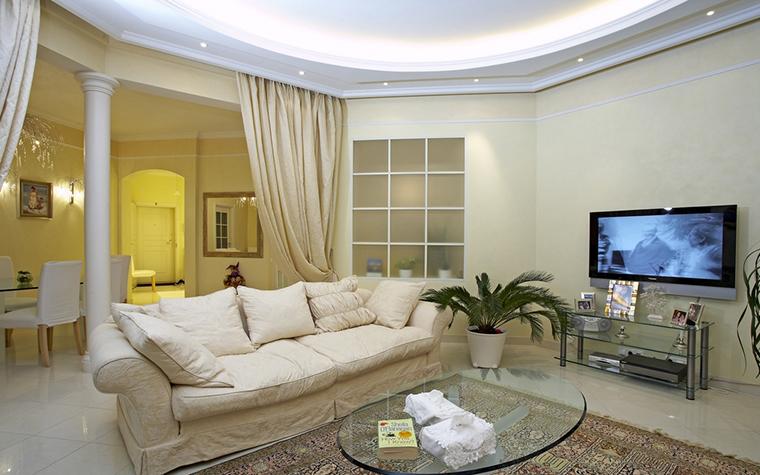интерьер гостиной - фото № 14446